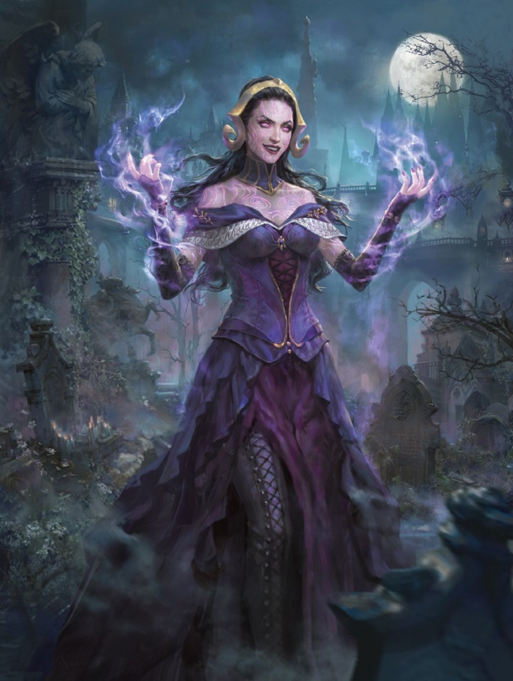 Check Out Magic The Gathering's Liliana, the Necromancer
