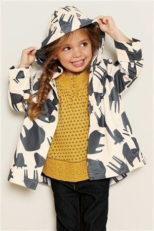 Next Animal Print Rain Mac (3mths-6yrs) | Children's clothes to ...