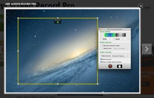 Screen recording on mac os