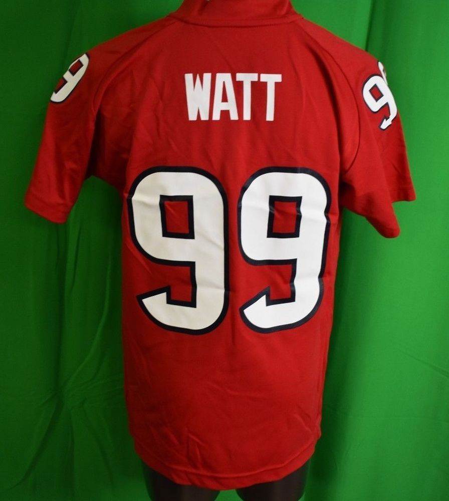 best cheap f66f6 ed104 NFL Team Apparel Youth Houston Texans JJ Watt Jersey LOOK S ...