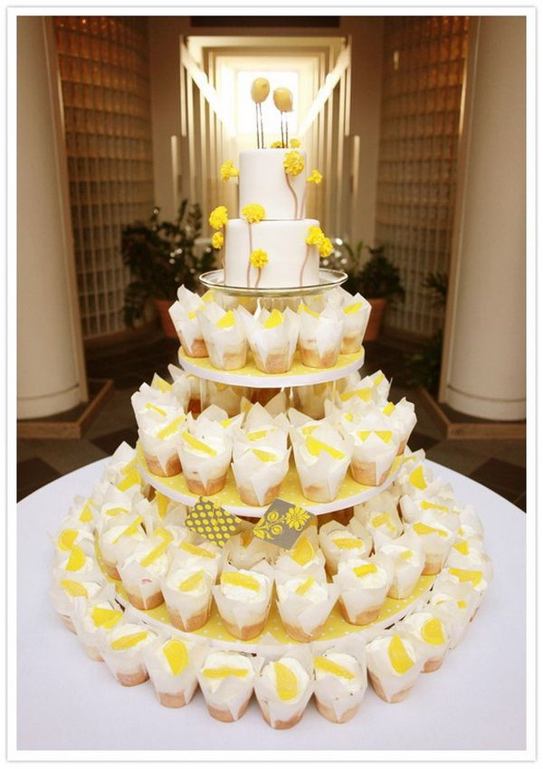 Cupcake Wedding Cakes | Design I wish I made | Pinterest | Cupcake ...