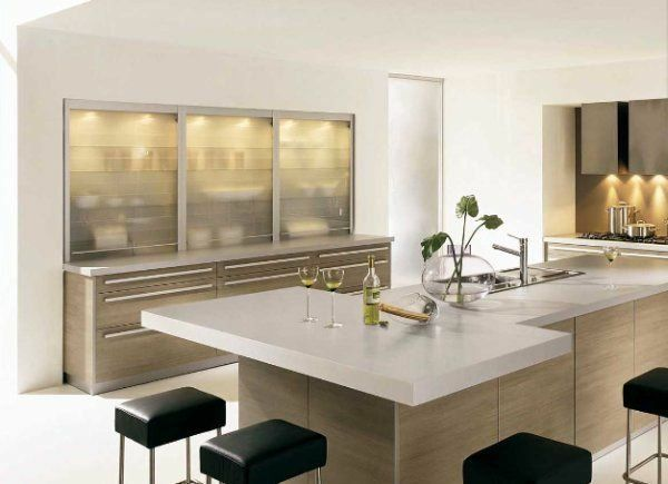 Plan de travail cuisine en 95 idées quel matériau choisir? - installation plan de travail cuisine