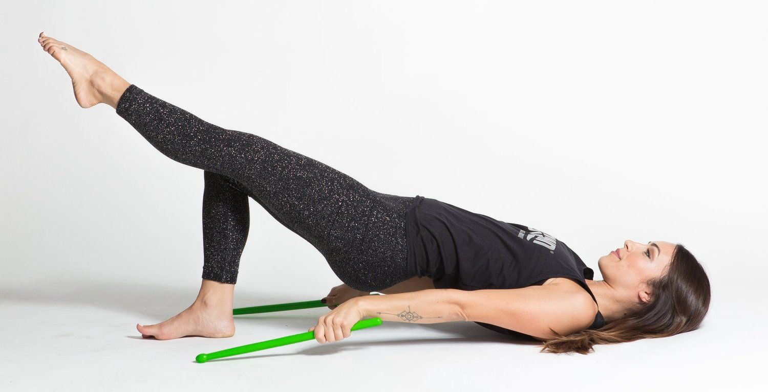 Drum your way fit with pound at crunch workout moves