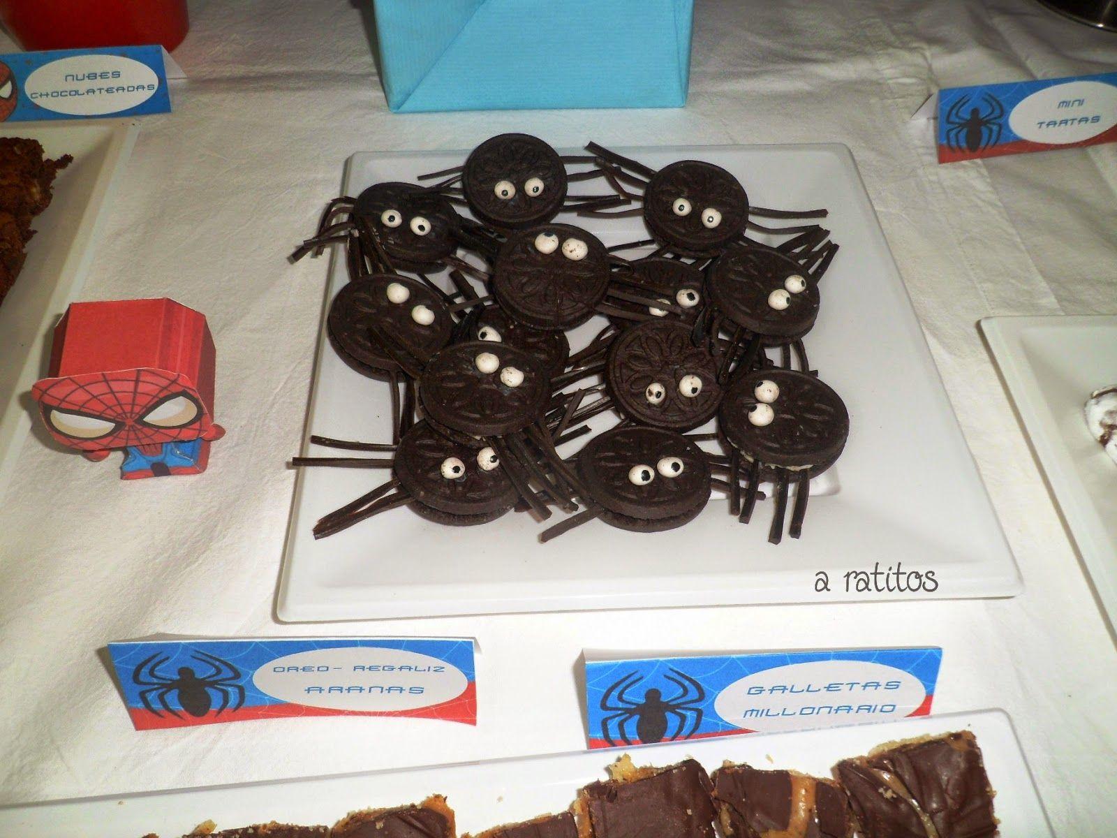 fiesta spiderman http://enmisratitos.blogspot.com.es/