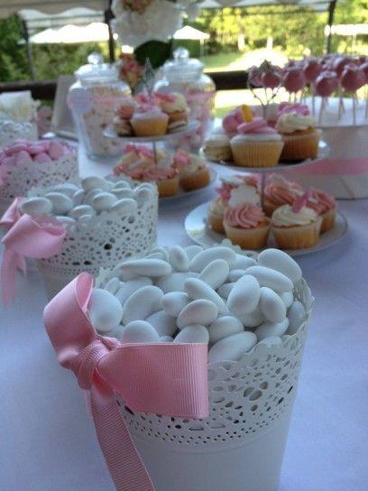 Decorazioni per la tavola party e feste pinterest - Tavolo per prima comunione ...