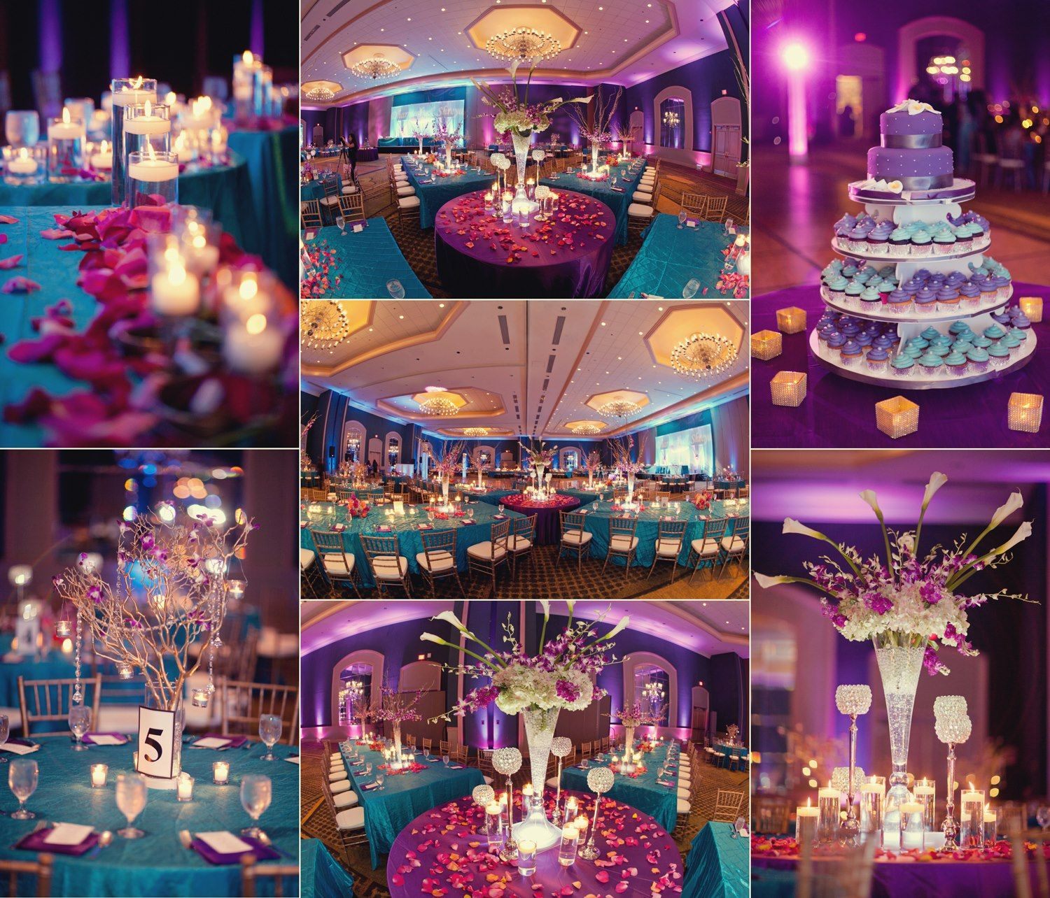 Venue Decorations: Indian Wedding Color Themes