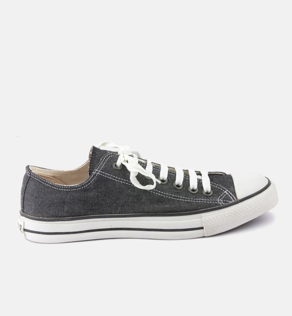 black converse denim