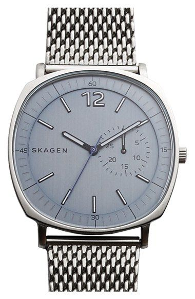Skagen 'Rungsted' Mesh Strap Watch, 40mm available at #Nordstrom     $195