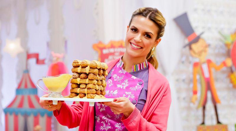 Junior Bake Off Brasil Traz Desafio Com Torre De Churros Neste Sabado Com Imagens Churros Gastronomia Confeiteira