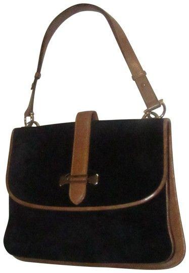 f032f242a8 Mark Cross Equestrian Accents Rare Suede Leather Early Saddle Shoulder Mint  Vintage Shoulder Bag