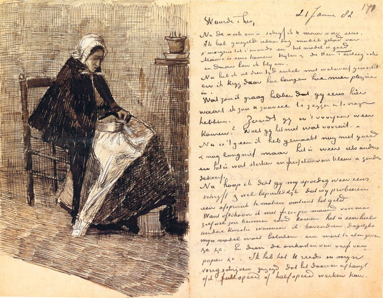 vincent van gogh letter theo got the best letters in the mail van gogh was also a great writer mail art pinterest vincent van gogh