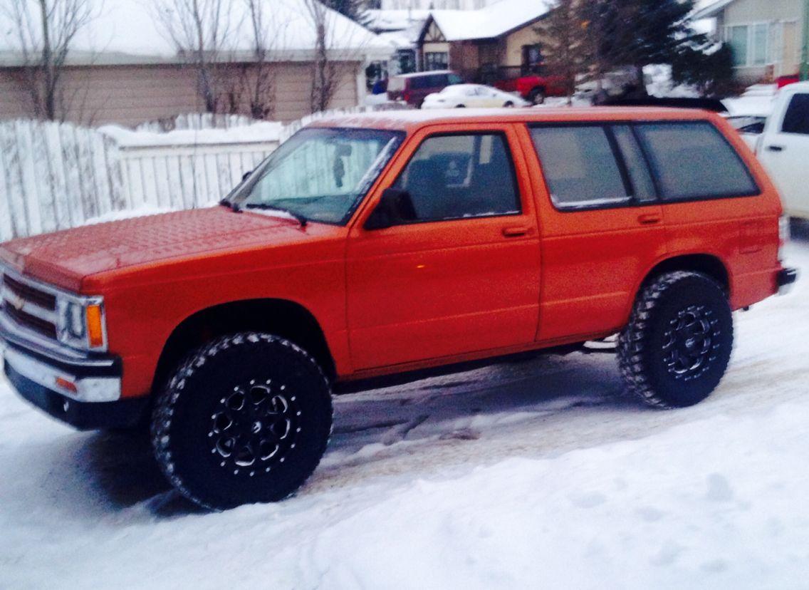 Chevrolet 1992 s10 blazer