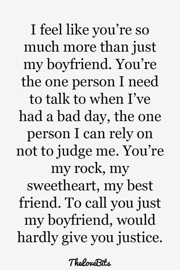 Boyfriend Quotes To Help You Spice Up Your Love Boyfriend Quotes