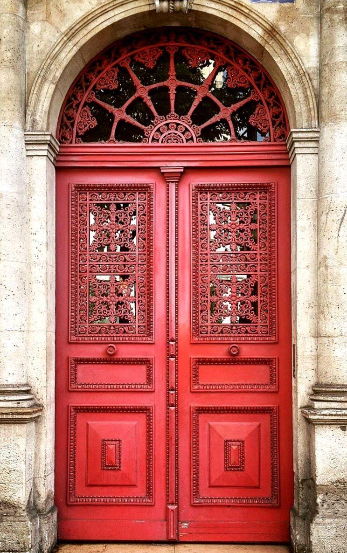 Montmartre Paris France European Doors Beautiful Doors Paris Door