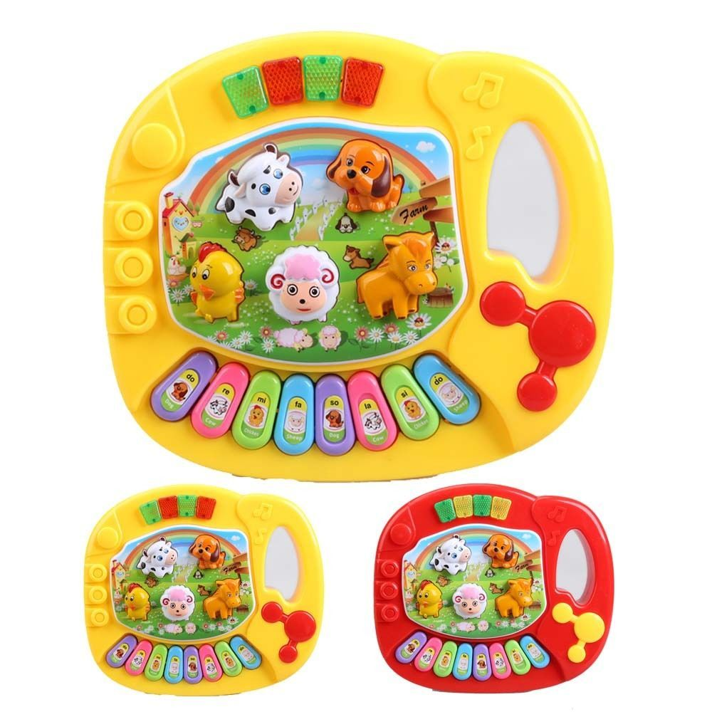New Musical Educational Piano Animal Farm Music Toys Game Baby Kids