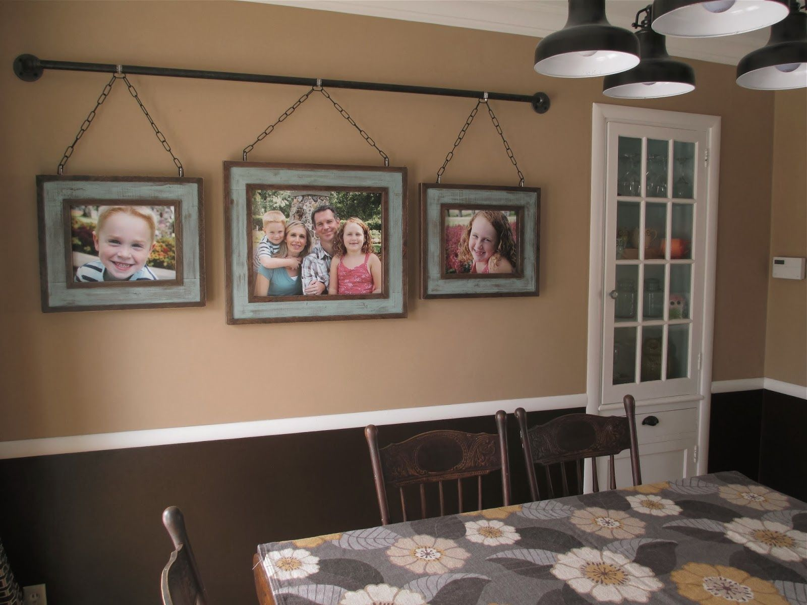 KRUSE'S WORKSHOP: Iron Pipe Family Photo Display