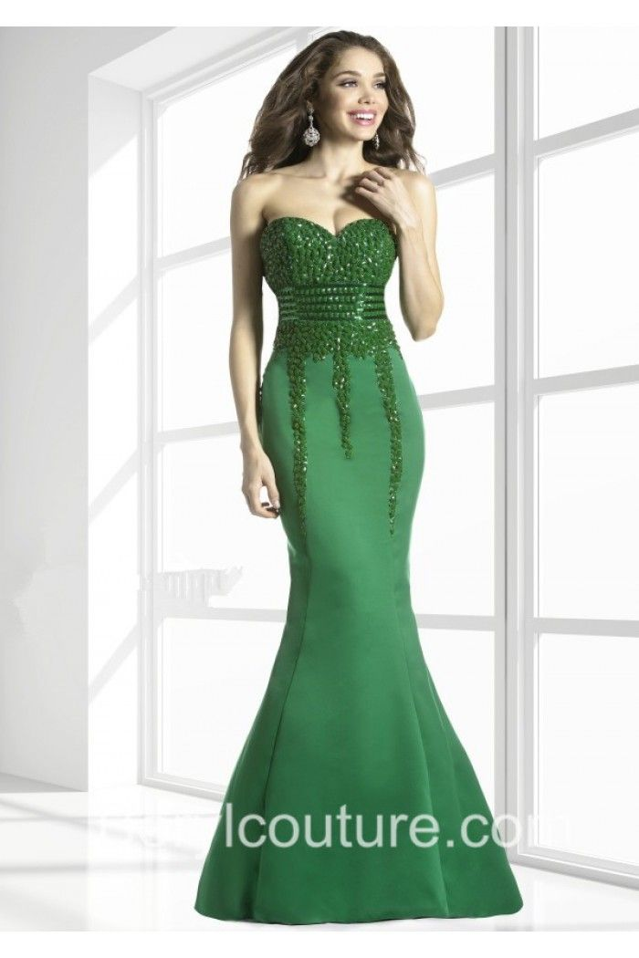 Green Mermaid Dresses - Missy Dress