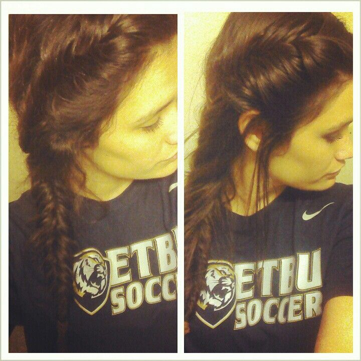 My Fish tail french braid