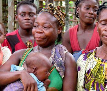 pygmies from Gabon