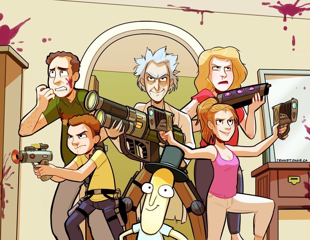 Tweetdeck Rick And Morty Characters Rick And Morty Morty