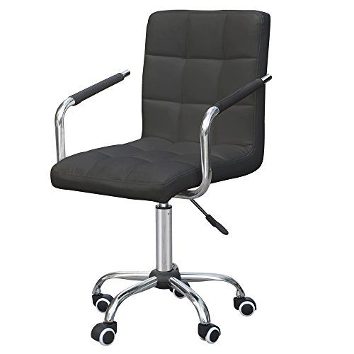 Tinxs® Swivel Leather Gas Lift Barstools Executive Office Computer Chair with Wheels (wheels bar  sc 1 st  Pinterest & Tinxs® Swivel Leather Gas Lift Barstools Executive Office Computer ... islam-shia.org