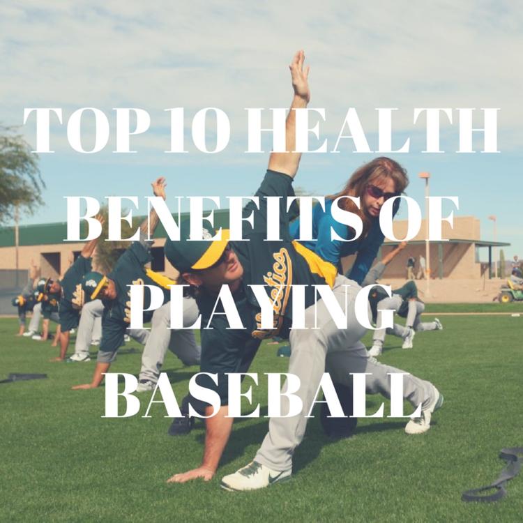 Top 10 Health Benefits Of Playing Baseball Arhus Baseball Softball Klub Play Baseball Health Benefits Health