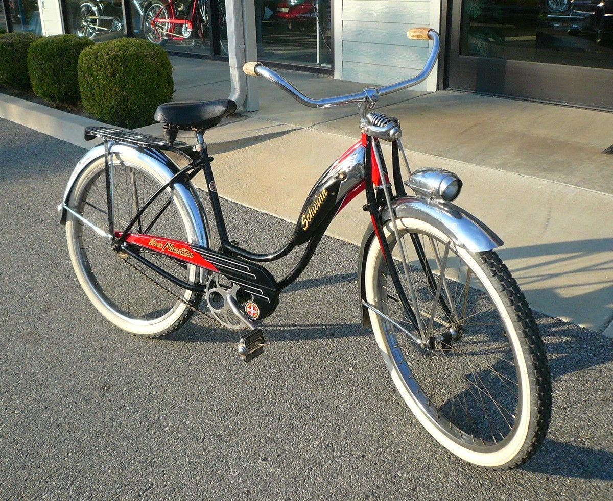 30b6c1f60fc 1956 Women's Schwinn Black Phantom   Bicycles I love!   Bicycle ...