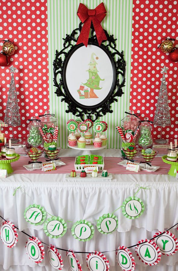 Grinch Inspired Holiday Party Grinch christmas party, Grinch