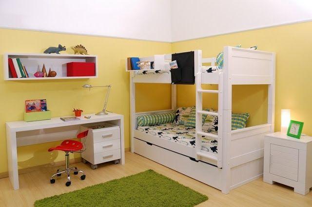 50 Ideias de quartos com beliche Beliche, Ideias de ~ Quarto Beliche