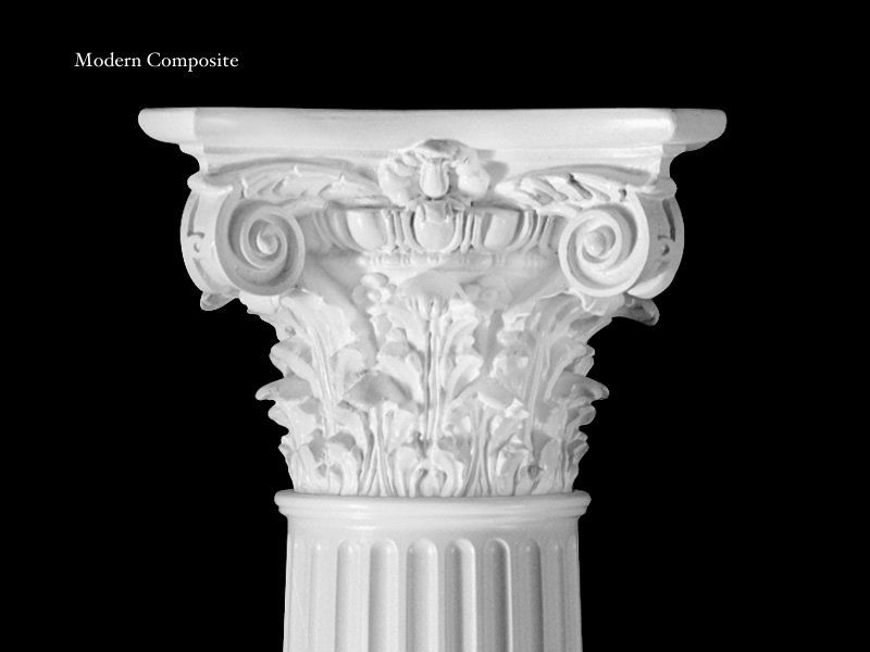 Modern Composite Design 310mc Plain 315 Fluted Architectural Columns Roman Columns Moldings And Trim