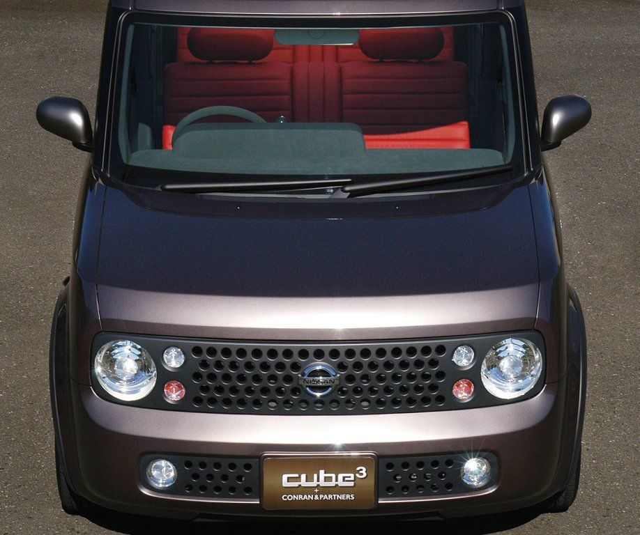 Pin By On C A R S: Nissan Cube³ Concept By Conran & Partners (Z11) '2003