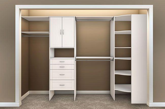 Closetmaid Master Bedroom Closet Configuration Closet Shelving Units Closet Shelves Corner Closet Organizer
