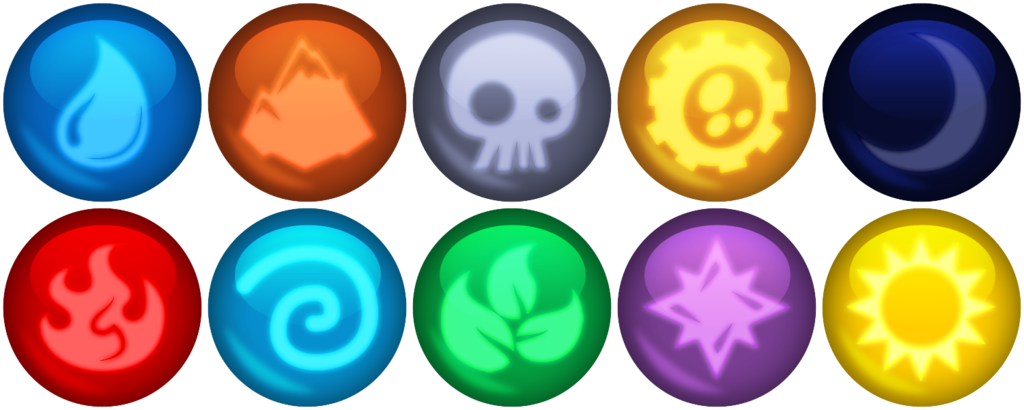 Skylanders Elemental gems by Xelku9 on DeviantArt (With ...