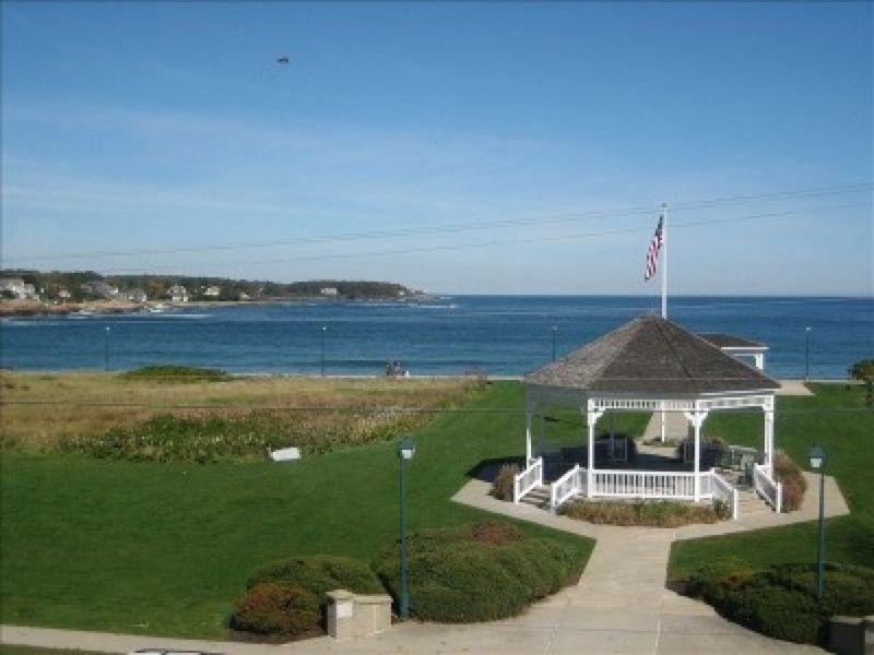 Ellis Park gazebo in York Maine | York Beach Maine | York