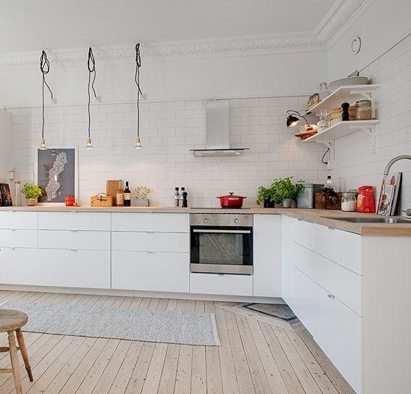 Cocinas de estilo n rdico cocina n rdica cocina moderna - Cocinas estilo nordico ...