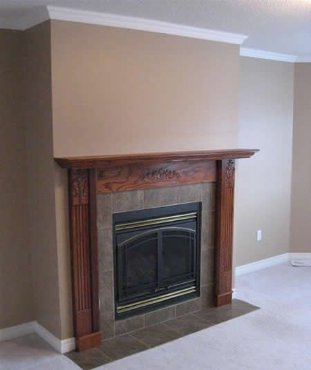 Picture Of Corner Gas Fireplace