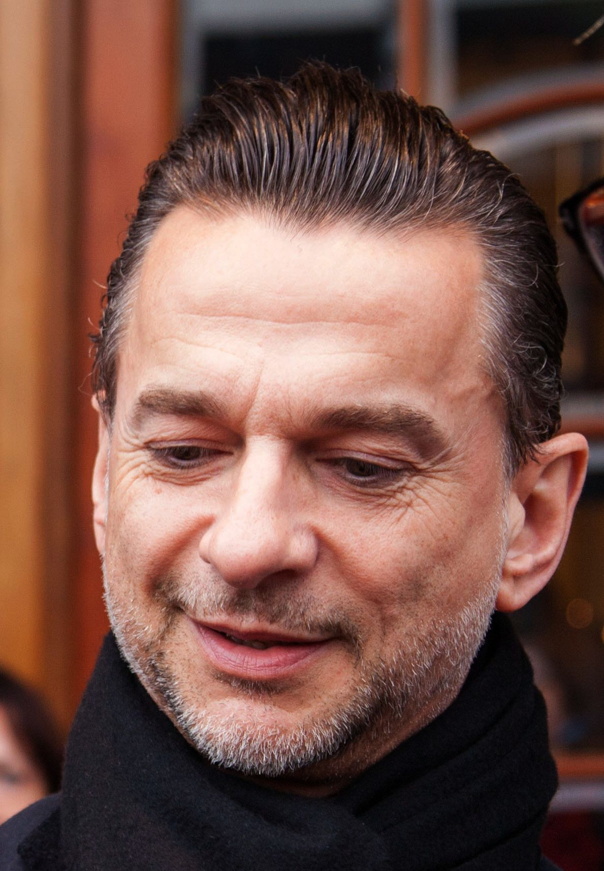 HAPPY NEW YEAR DAVE GAHAN ! from DepecheModeLover.com Cameo face cropped from fine photos by O Studio of Sweden
