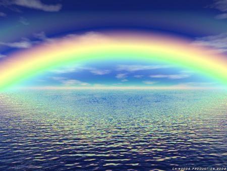 قوس القزح يغازل سطح المكتب/ Rainbow Flirts Desktop 9710f1acece15e5ec77b