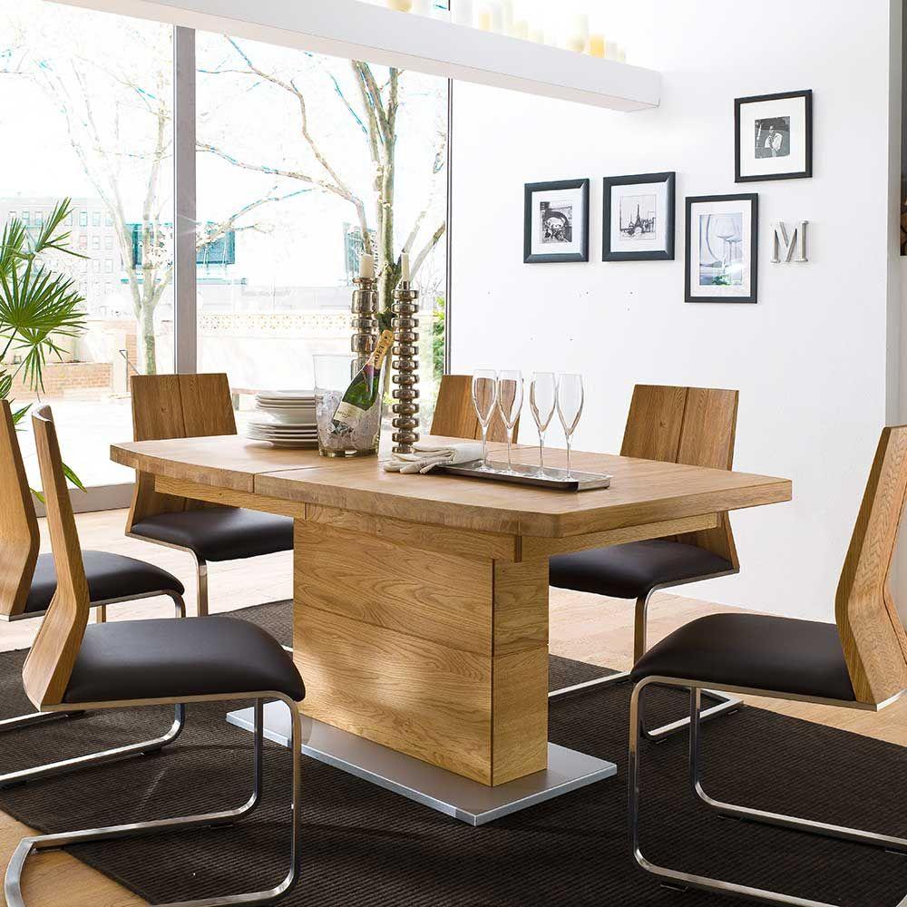 Brilliant Holztisch Ausziehbar Sammlung Von Eiche Esstisch In Bianco Geölt ,massivholztisch,küchentisch,holztisch Massiv,ausziehtisch