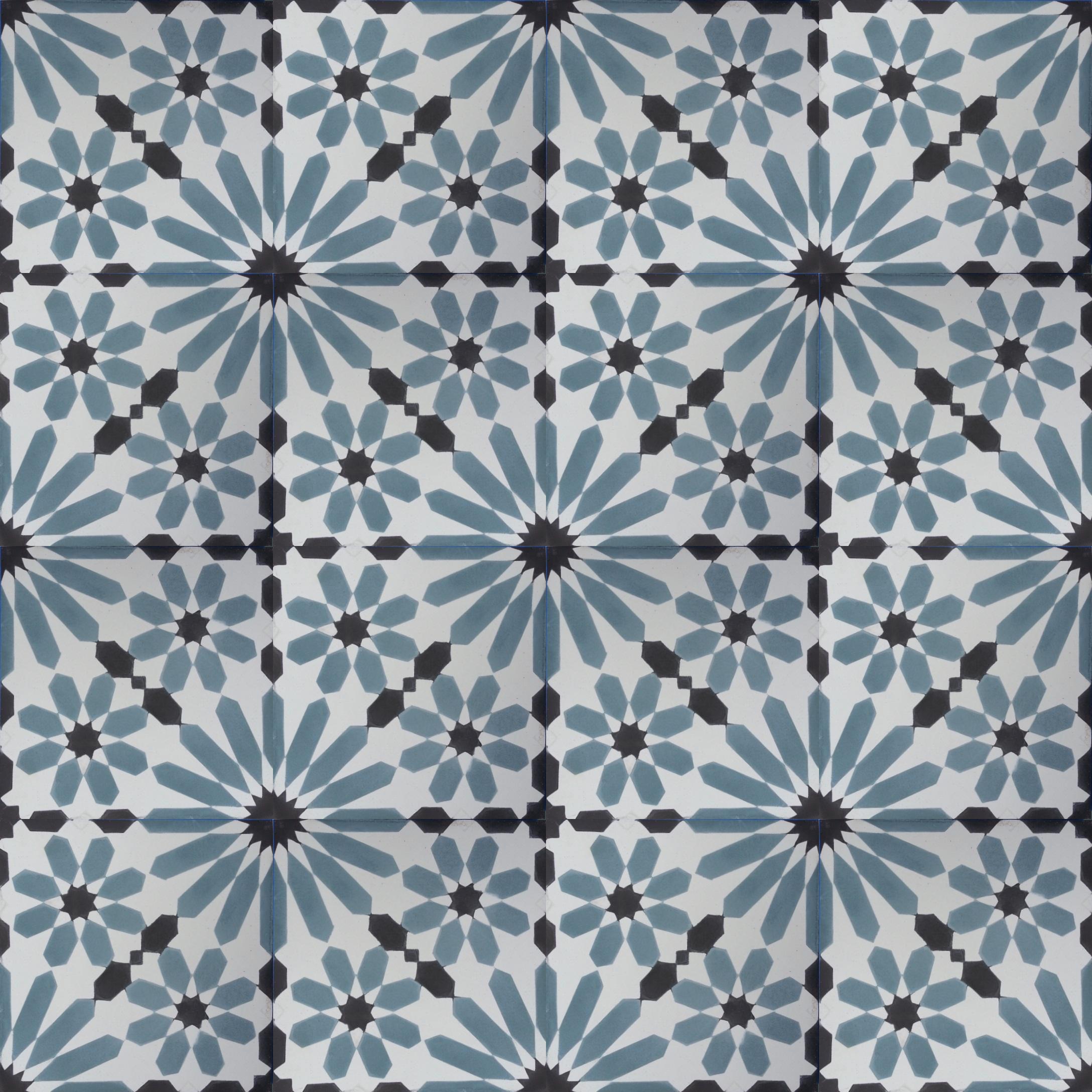 Vn Azule 32 Zementfliesen Von Designfliesen De Zementfliesen Fliesen Zement