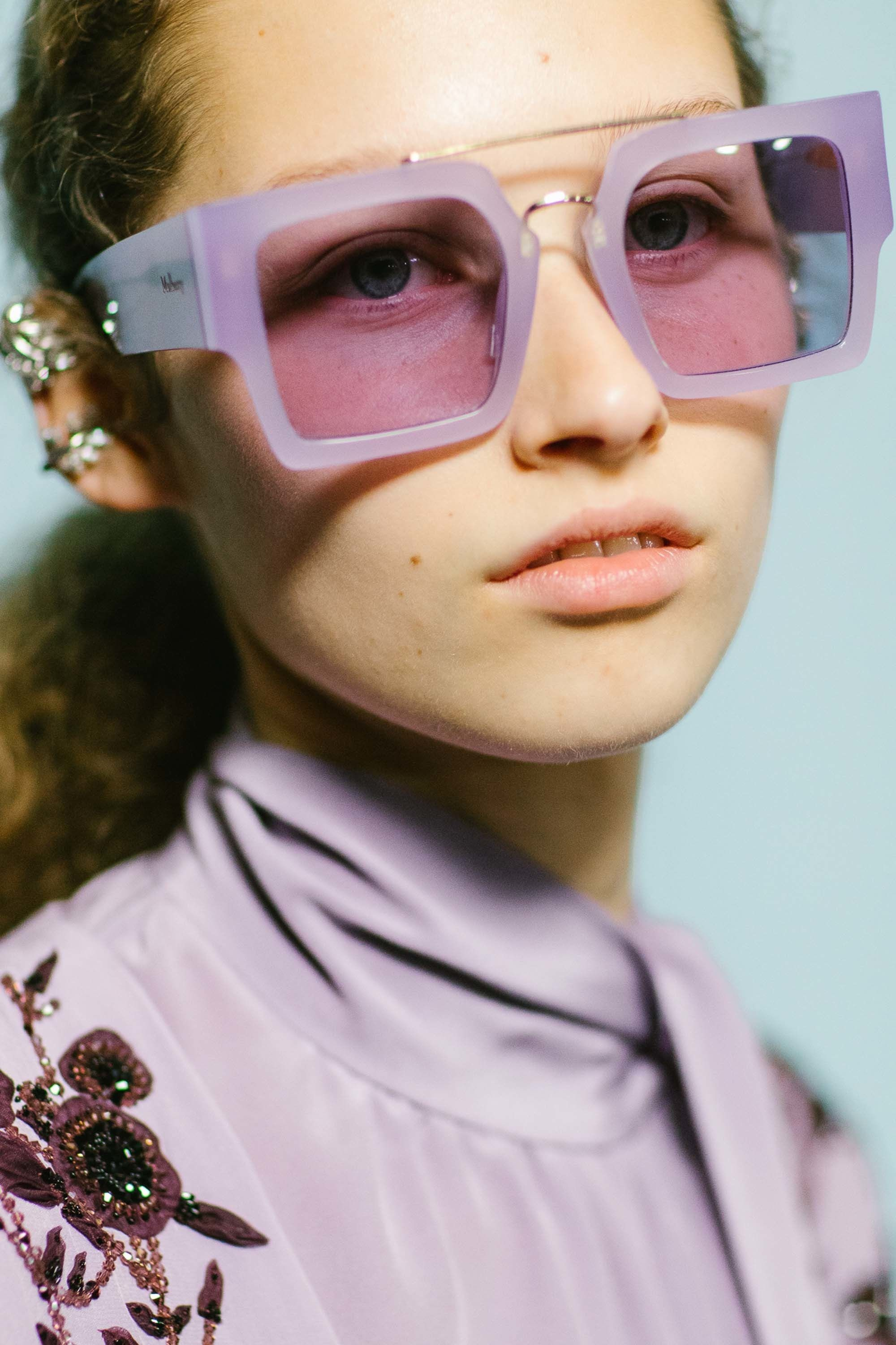 c9bdb9be9ba1 TRENDING  Monochromatic lilac frames and lenses by Mulberry. Zippertravel.   DrStyle Cute Sunglasses