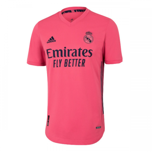 20 21 Real Madrid Away Pink Soccer Jerseys Shirt Player Version Cheap Soccer Jerseys Shop In 2020 Real Madrid Soccer Shirts Madrid