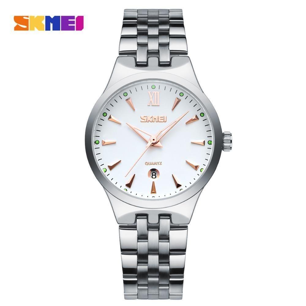0e4493e8450 SKMEI Mens Watches Top Brand Luxury Fashion Casual Watch Men s Quartz  Watches Dress Wristwatches Steel Quartz-Watch Reloj Hombre