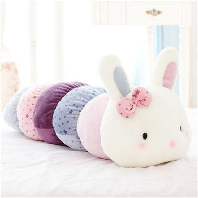 US $49.95  Rabbit Plush Toys For Children Dolls Girl Hare Birthday Gifts Christmas Cloud Pillow Pusheen Trinket Cotton Dolls Soft 704141 rabbit plush toy plush toyspillow pusheen - AliExpress