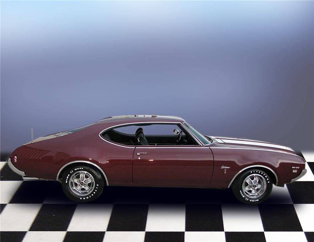 1969 OLDSMOBILE CUTLASS W31 HOLIDAY COUPE | olds