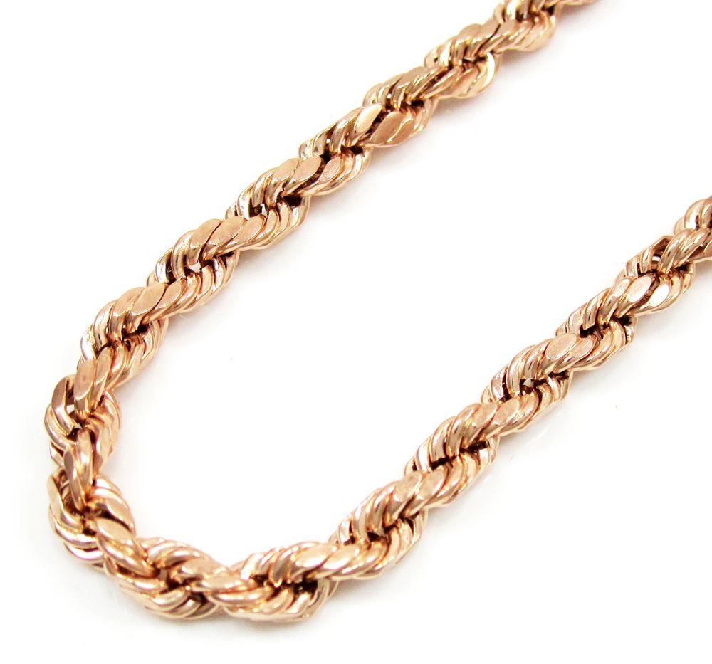 So Icy Jewelry Offers 10k Rose Gold Rope Chain Specially Designed For Men To Make It Your Style Statement This Chain Jewelry Trends Gold Rope Chains Jewelry