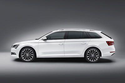 Skoda Superb Estate 2015 Automobile Car Volkswagen Group