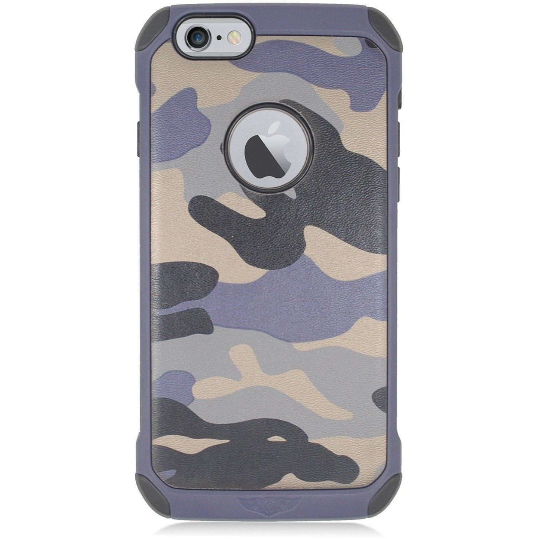 Egc apple iphone 6 47 hybrid tpu armor case grey