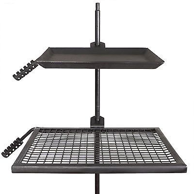 Titan Campfire Adjustable Swivel Grill Fire Pit Cooking Grate Griddle Plate Bbq Fire Pit Grill Grate Fire Pit Cooking Fire Pit Grill