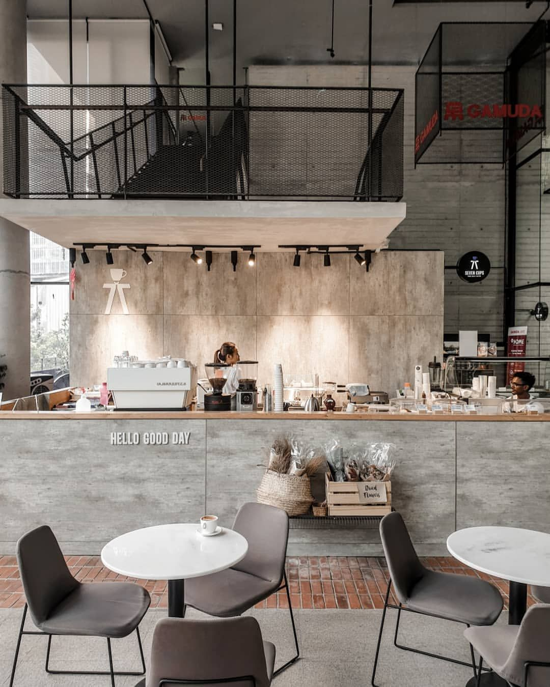 Interior design coffee shops